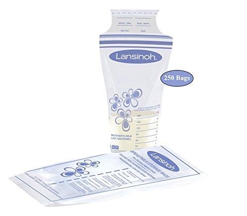 Lansinoh Breast Milk Storage Bags, 250 Count