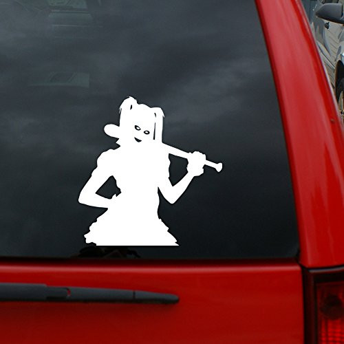 """510e261a66acda Harley Quinn Suicide Squad - 5"""" x 4.8"""" Vinyl Decal Window Sticker for Cars"""
