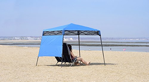 Quik Shade GO Hybrid Compact Slant Leg Backpack Canopy, Blue, 7 x 7-Foot by Quik Shade Pets (Image #9)