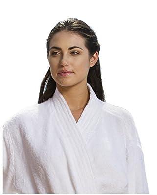 Terry Cloth Cotton Robe for Women and Men, Kimono Bamboo Bathrobe