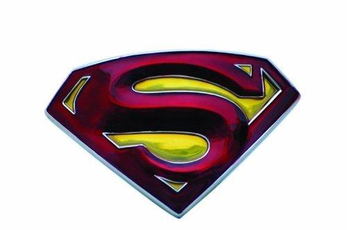1ac7aa5de03f Boucle ceinture Superman - Rouge, -  Amazon.fr  Vêtements et accessoires