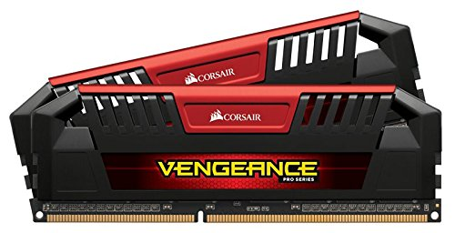 Corsair Vengeance Pro 16GB (2x8GB) 1866MHz (PC3-14900) C10 for DDR3 Systems (CMY16GX3M2A1866C10R) by Corsair