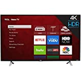 TCL 43 Inches 4K Smart LED TV 43S405 (2017) with Roku (Certified Refurbished)
