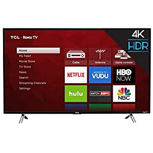 TCL 43S405 43-Inch 4K UHD Smart LED Roku TV (Renewed) 1