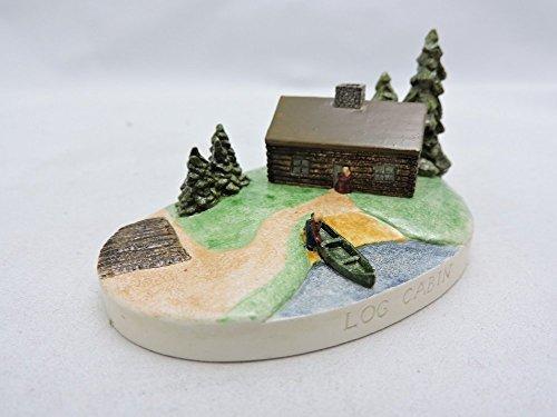 Sebastian Miniatures Figurine # 3722 Log Cabin