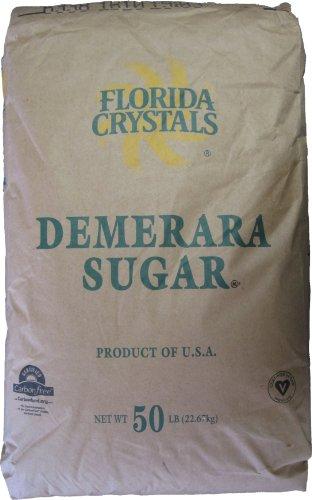 Demerara Sugar - 50 Pounds by Florida Crystals