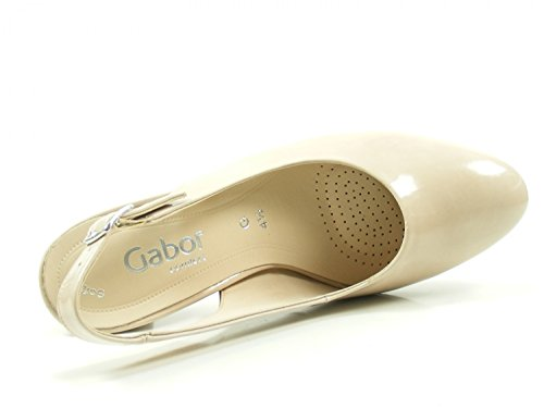 Gabor 82-260 Womens Court Shoes Beige hqnBdb