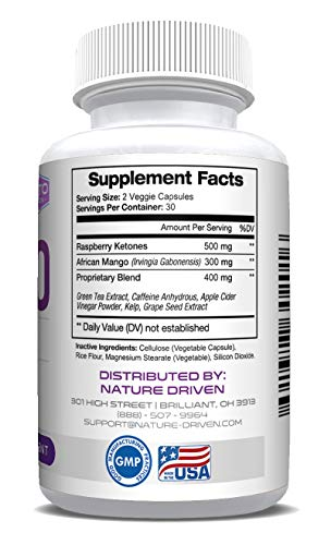 Best Shark Tank Keto Pills Boosts Metabolism & Energy Burn Fat Not Carbs All Natural Weight Loss Electrolytes 60 Capsules by Nature Driven