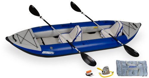 Sea Eagle 380x Inflatable Kayak with Deluxe Package