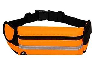0321bf66c755 Unisex Running Belt, Waist Pack, Runners Bag, Race Belt, Bum Belt, Bumbag,  Fitness Workout Belt W Zip bag, Running Pouch with Headphone Hole, With ...
