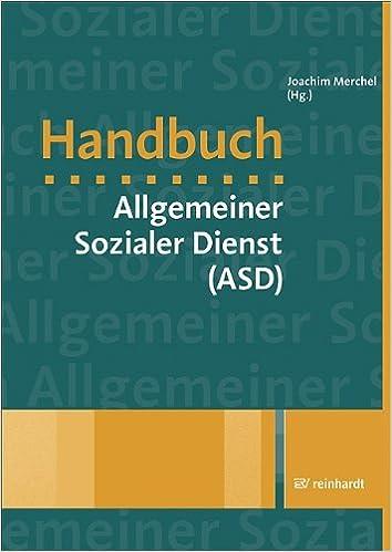 Handbuch Allgemeiner Sozialer Dienst Asd Joachim Merchel