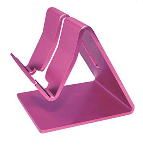 Glow Castle Aluminum alloy stent metal stents lazy mobile phone desktop Tablet metal stents (Rose (Rust Rose Pedestal)