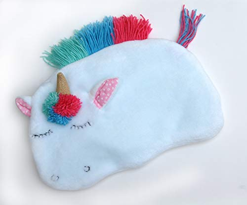 Hot Water Bottle Cover Cozy Unicorn for Girls