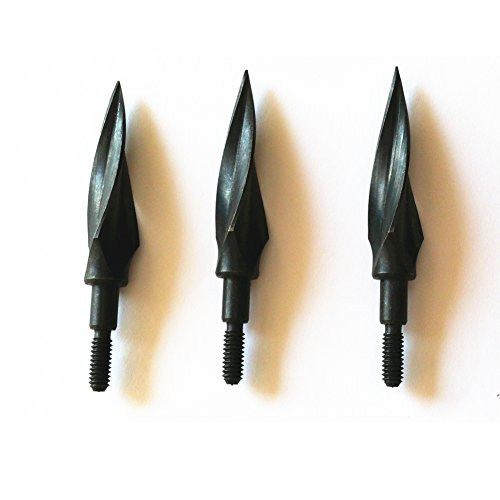 Rotary Sharp Blades Arrowhead 150 Grain Archery Broadheads Hunting Arrow Tips for Crossbow Bolts and Compound Bow (12 Pack)