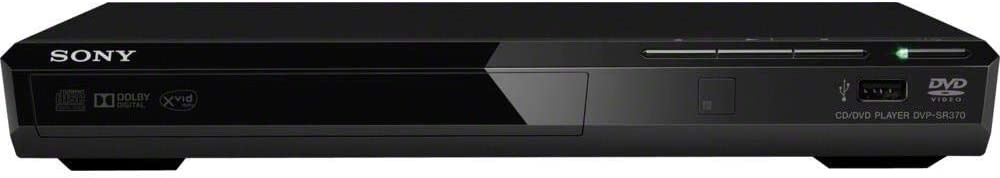 Sony DVP-SR370 DVD Player (Black)
