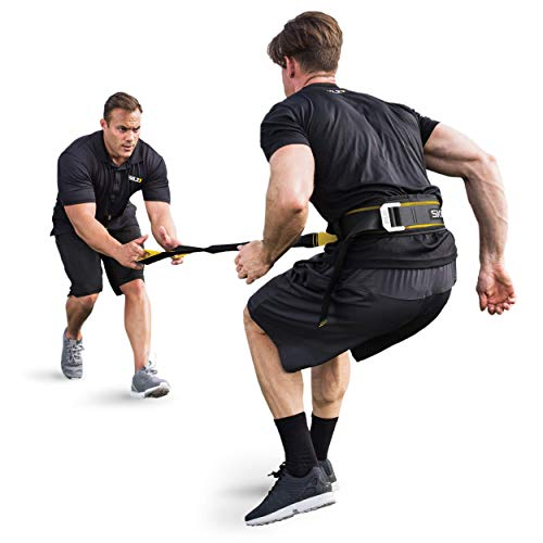 (SKLZ Acceleration Trainer, Dynamic Overload and Release Resistance Training System with Force Absorbing Handles)