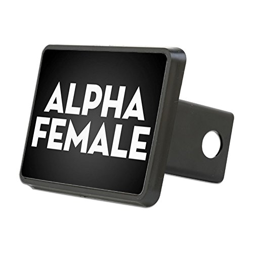 CafePress - Alpha Female - Trailer Hitch Cover, Truck Receiver Hitch Plug - Alpha Hitch Trailer Covers