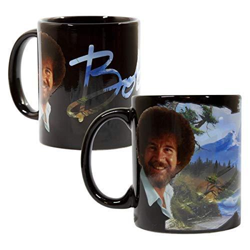 Bob Ross Large Color Changing Ceramic Coffee Mug | 12 Ounces