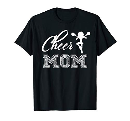 Cheer Mom T-shirt 2017 Trending Beautiful Graphic - Cheerleader Mom Shirt