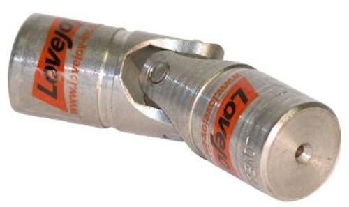 16mm OD Belden UJ-SS16x08 Single Universal Joint Stainless Steel 58mm Overall Length Belden Universal Joints 8mm Bore Metric