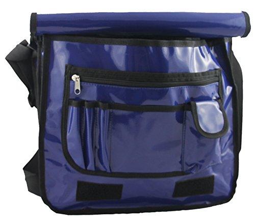 clásico maletín 2 Espacio Funda Azul nbsp;Ancho Bag XL Messenger Plan para archivadores gwdqwR5