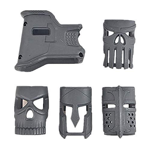 JINGz Standard Magazine Decoration Grip Tactical Improved Grip Cover for AR-15 (Black) (Mag Well Grip Ar15)
