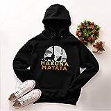 Miracle TM Lion Mens Hooded Sweatshirt - Adult