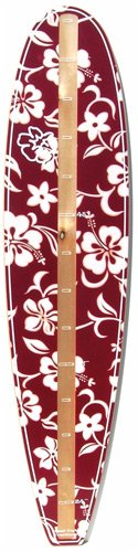 Red Hawaiian Surfboard Growth Chart by Head High Creations