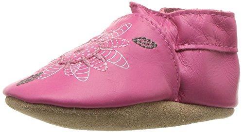 - Robeez Girls' Elephant Eddie Crib Shoe, Fiona Flower - hot Pink, 18-24 Months M US Infant
