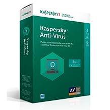 Kaspersky Antivirus 2018 3-User 1Yr BIL