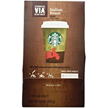 Starbucks VIA Ready Brew Coffee, Italian Roast (50 counts)