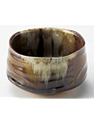 Kaatsu 4 9inch Set Of 5 Medium Plates Brown Ceramic Made In Japan