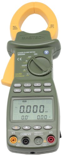 AideTek AMS2205 MS2205 Power Quality Clamp Meter Harmonic (345 Power Quality Clamp Meter)