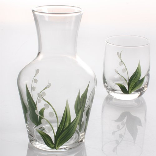 Carafe Set - Lily of The Valley