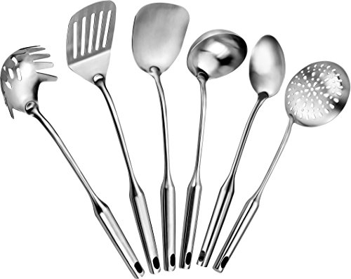 Stainless Steel Kitchen Tool Set 6 Pieces by Pro Chef Kitchen Tools