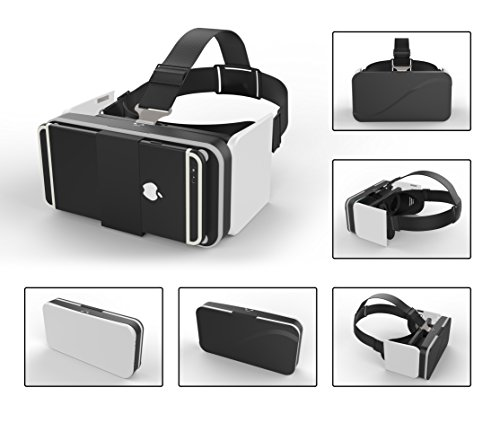 GenBasic Compact Folding Virtual Reality VR Headset - Light 3D Viewer for Android Cardboard and iPhone VR by GenBasic (Image #2)