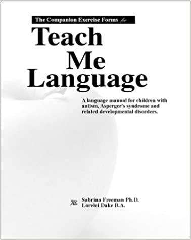 The Companion Exercise Forms for Teach Me Language: Dr. Sabrina ...