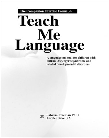 The Companion Exercise Forms for Teach Me Language by Brand: Skf Books