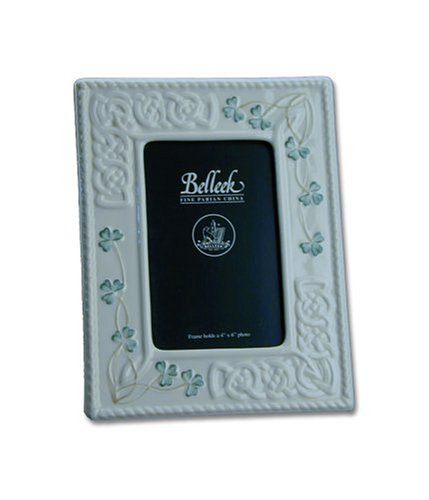 Belleek Reed & Barton Tara 4-by-6-Inch Picture Frame