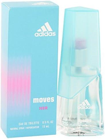 Transparente latín Delgado  ADIDAS MOVES by Adidas Perfume for Women (EDT SPRAY .5 OZ): Amazon.co.uk:  Beauty