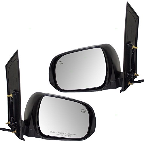 Driver and Passenger Power Side View Mirrors Heated Replacement for Toyota Van 87940-08094-C0 87910-08094-C0 AutoAndArt