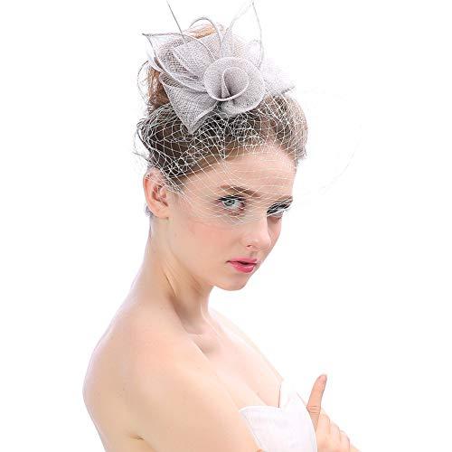 Lino Studio Le Donne Decorazione Per Fanno BellezzacoloreGrigio Diversa Hairpin Capelli A Fei Argento Copricapo Cappello Dei Da Ti Photo Creativo Sposa In Fatto Mano I9WH2ED