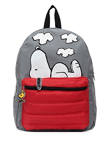 Peanuts Snoopy on Doghouse 16 Backpack]()