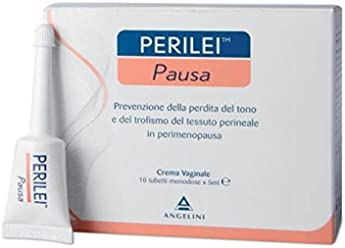 ANGELINI PERILEI PAUSA Tone Vaginal Cream 10 Tubes 5ml