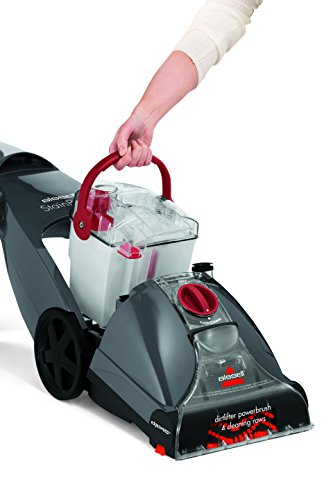 BISSELL StainPro 4 Carpet Cleaner 20686, Titanium/Red