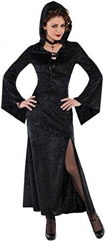 Asoma – Maga disfraz de bruja Fancy disfraz negro Full Sexy 8 – 20 ...