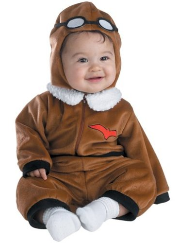 Red Baron Costume: Baby's 12-18 (Red Baron Baby Costume)
