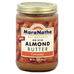 No Stir Almond Butter, Creamy, 12 oz (340 g)