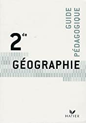 Géographie 2e : Livre du professeur