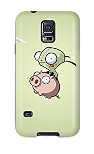 Galaxy S5 Case Cover Invader Zim Case Eco Friendly Packaging